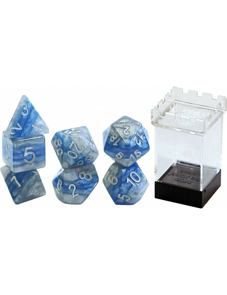 Set de dados Gate Keeper Games: DEVOTION Reality Shards Dice