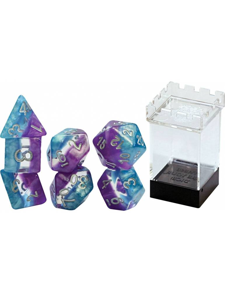 Set de dados Gate Keeper Games: Psionic Combat Supernova Dice