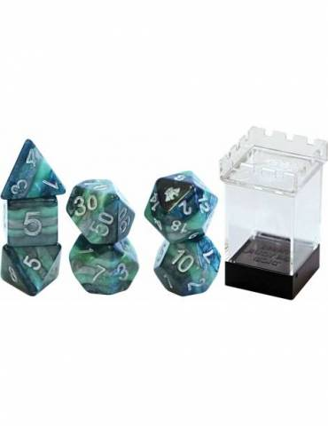 Set de dados Gate Keeper Games: MIGHT Reality Shards Dice