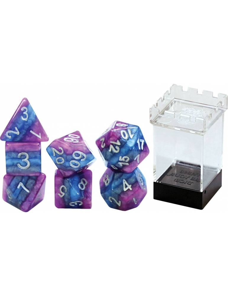 Set de dados Gate Keeper Games: THOUGHT Reality Shards Dice