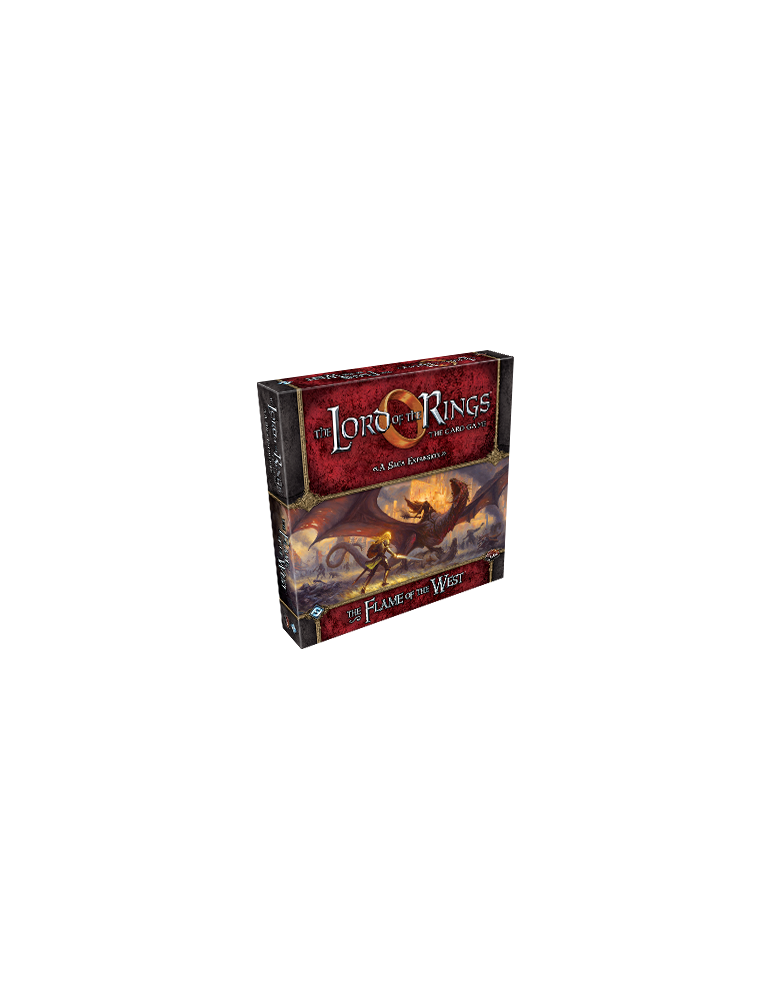 The Lord of the Rings LCG: The Flame of the West (Inglés)