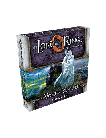 The Lord of the Rings LCG: The Voice of Isengard Expansion (Inglés)