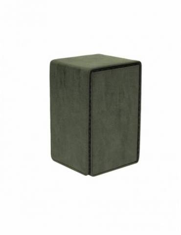 Caja de mazo Suede Collection Alcove Tower Ultra Pro Emerald