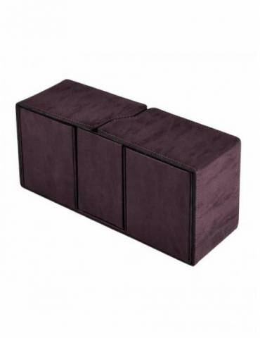 Caja de mazo Suede Collection Alcove Vault Ultra Pro Amethyst