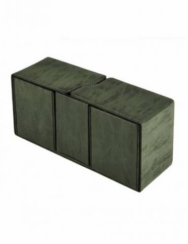 Caja de mazo Suede Collection Alcove Vault Ultra Pro Emerald