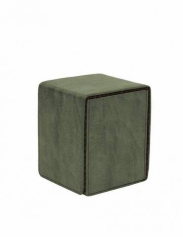 Caja de mazo Suede Collection Alcove Flip Ultra Pro Emerald