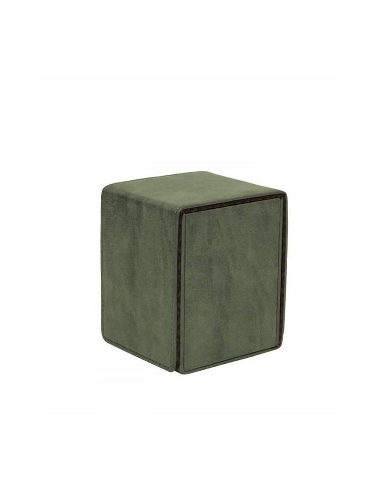 Caja de mazo Suede Collection Alcove Flip Ultra Pro Emerald