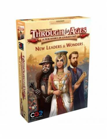 Through the Ages: New Leaders and Wonders (Inglés)