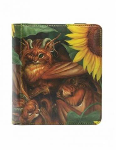Portafolio Dragon Shield Card Codex Tangerine 'Dyrkottr' 80. Para 576 Cartas Con Doble Funda