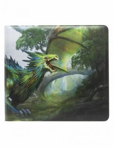Portafolio Dragon Shield Card Codex Olive 'Lavom' XL