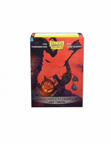 Fundas Dragon Shield Standard Art Sleeves Matte Halloween (100)