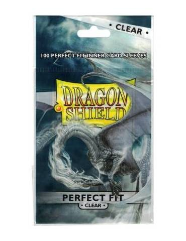 Fundas Dragon Shield Standard Perfect Fit Clear (100)