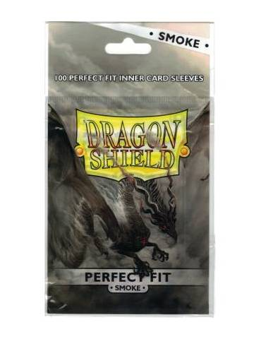 Fundas Dragon Shield Standard Perfect Fit Smoke (100)