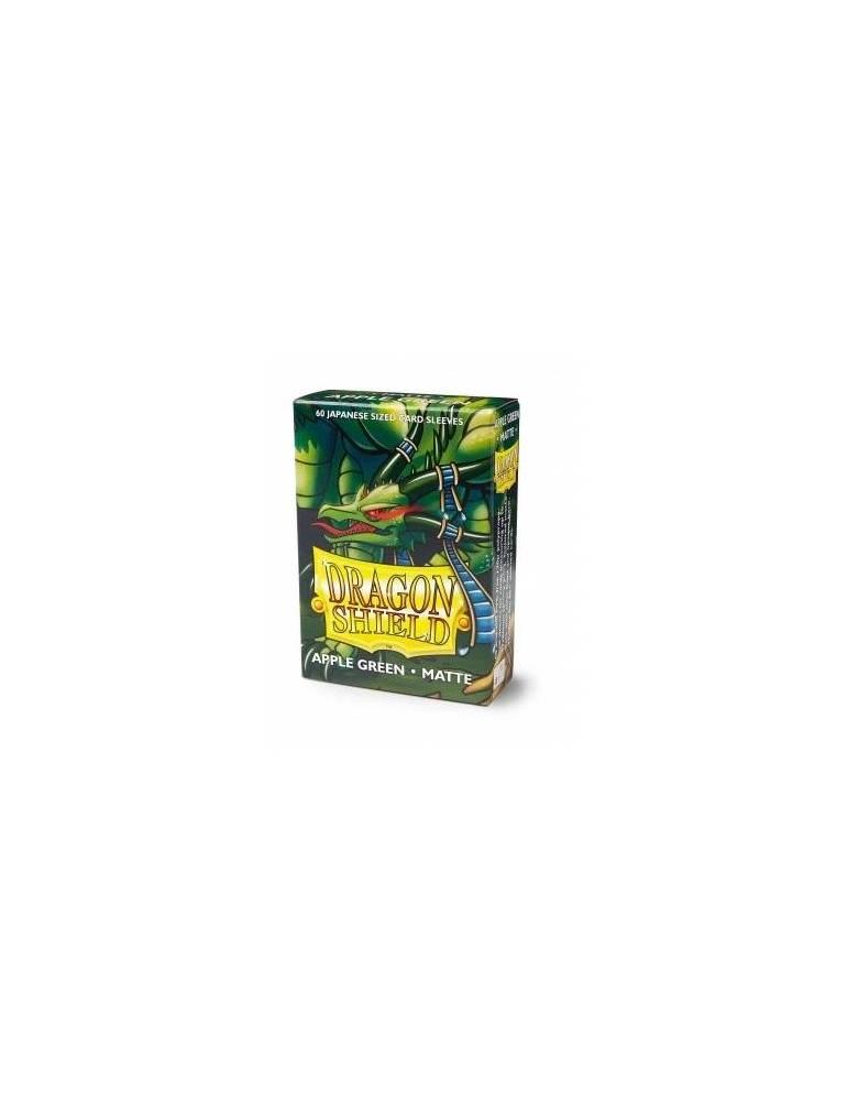 Fundas Dragon Shield Small Matte Verde Manzana