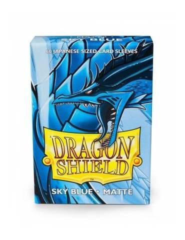 Fundas Dragon Shield Small Matte Azul Cielo