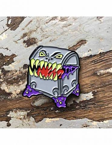 Pin Creature Curation: Mimic (Gray)