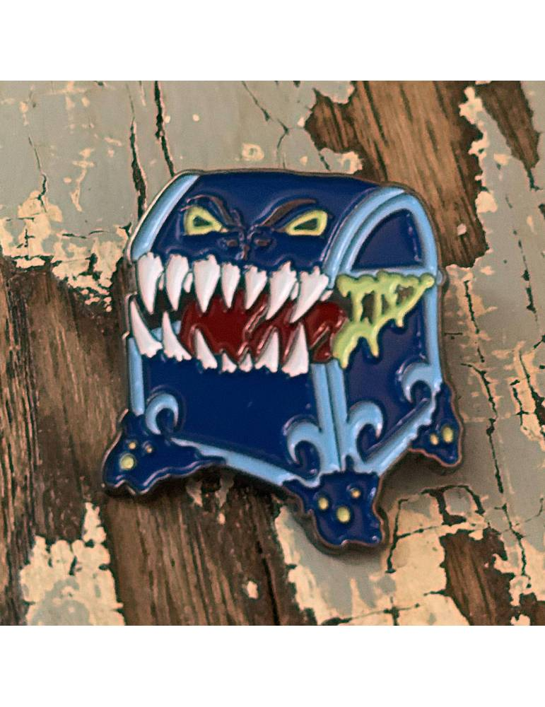 Pin Creature Curation: Mimic (Blue)