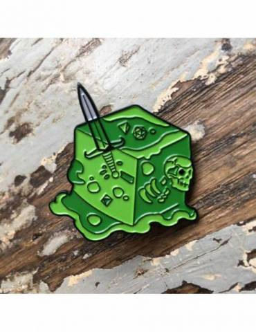 Pin Creature Curation: Gelatinous Cube (Green)