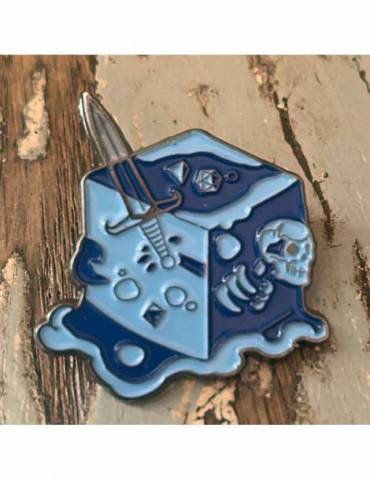 Pin Creature Curation: Gelatinous Cube (Blue)