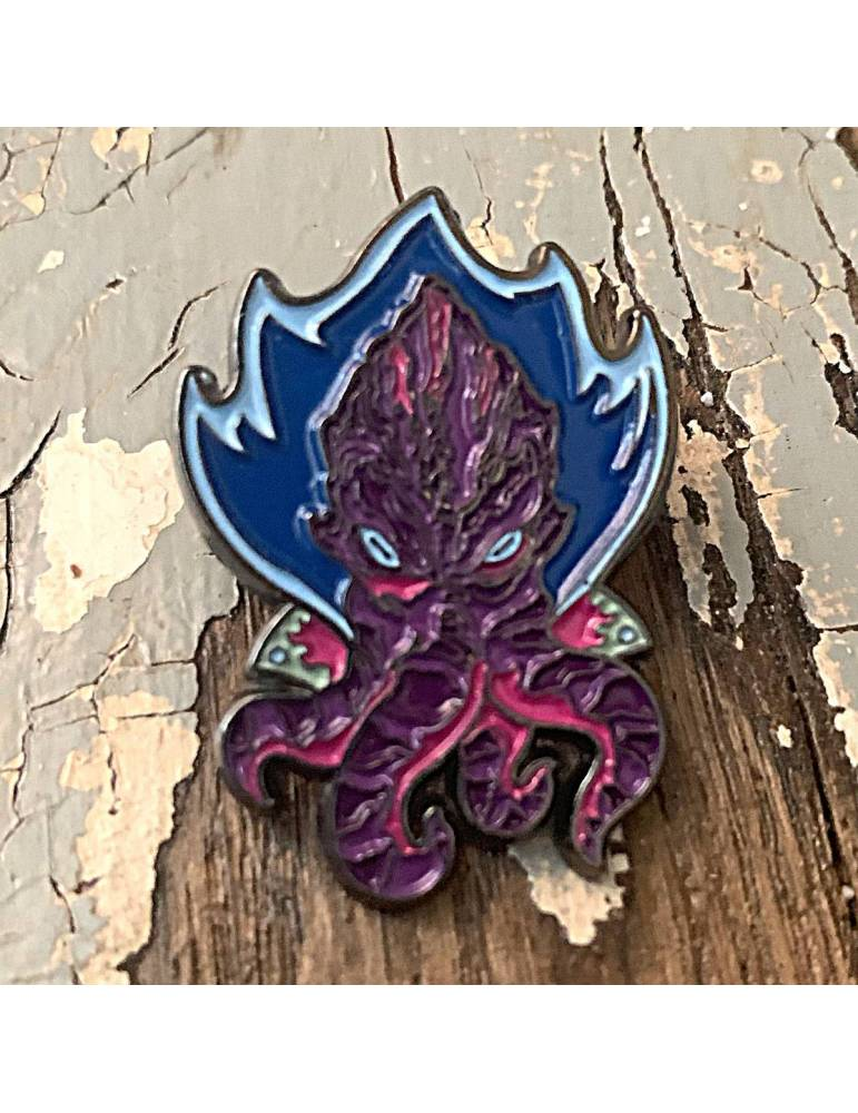 Pin Creature Curation: Space Squid (Purple)