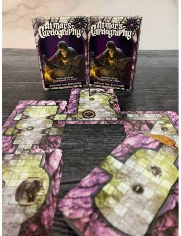 Atmar's Cardography 04 - Survive the Badlands