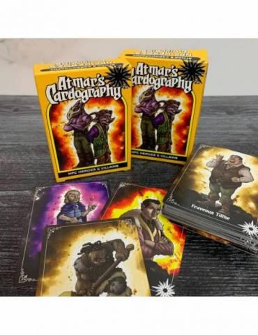 Atmar's Cardography 07 - NPC Heros & Villains