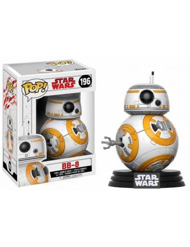 Figura Pop Star Wars Episode VIII: Cabezón BB-8 9 cm
