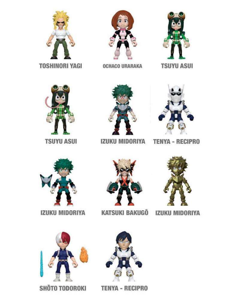 Minifigura My Hero Academia: Tenya - Recipro 8 cm