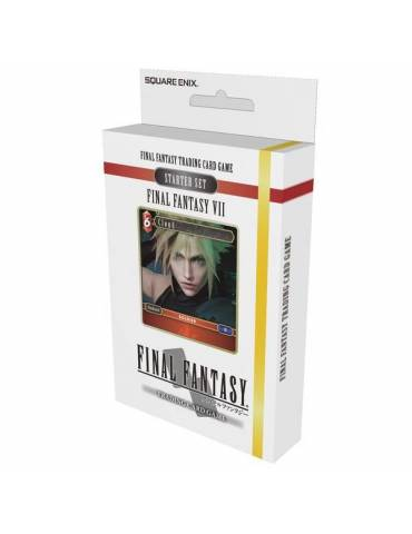 Final Fantasy TCG: Final Fantasy VII Starter Set + Carta Aleatoria