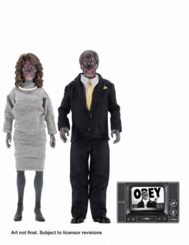 Set de 2 Figuras They Live Clothed 20 cm