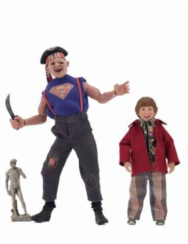 Pack de 2 Figuras Goonies: Sloth & Chunk Clothed 20-13 cm