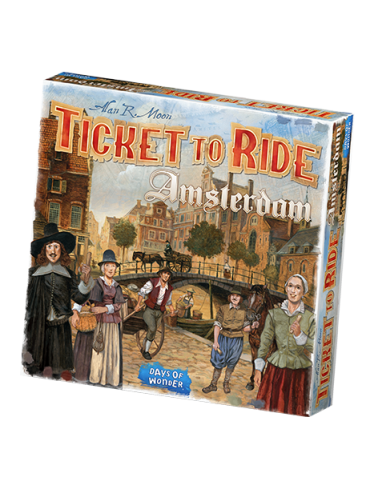 Ticket to Ride: Amsterdam...