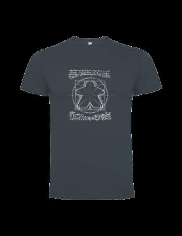 Camiseta Unisex: Meeple Vinci