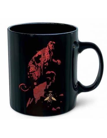 Taza Cerámica Hellboy: Logo...