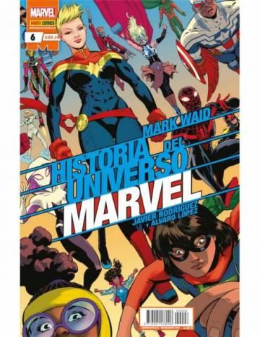 Historia del Universo Marvel 06 (Edición Especial)