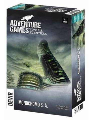 Adventure Games: Monocromo...