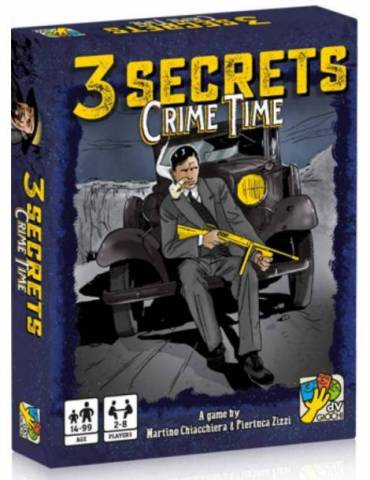 3 Secrets: Crime Time (Inglés)