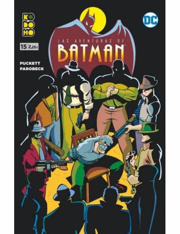 Las aventuras de Batman núm. 15