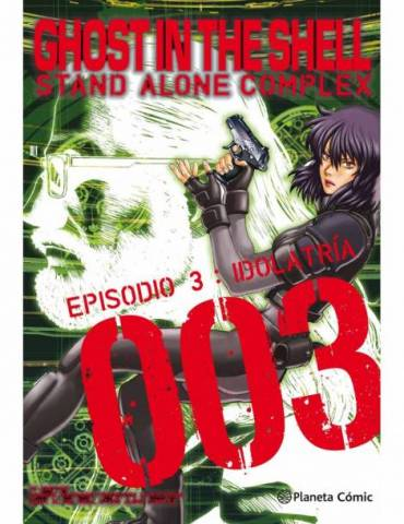 Ghost in The Shell Stand Alone Complex Nº 03/05