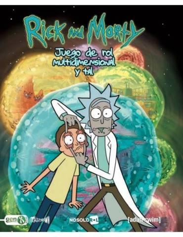 Rick y Morty Juego de Rol