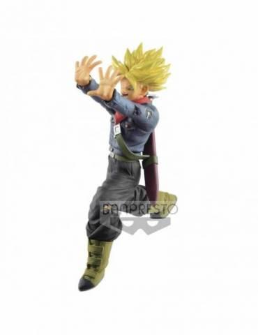 Figura Dragon Ball Super: Super Saiyan Trunks Future Super Galick Gun 17 cm