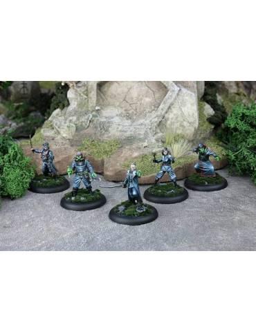 Achtung! Cthulhu Miniatures: Black Sun Commanders