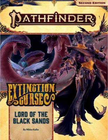 Pathfinder Adventure Path 155: Lord of the Black Sands (Extinction Curse 5 of 6) (Inglés)