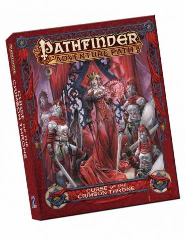 Pathfinder Adventure Path: Curse of the Crimson Throne Pocket Edition (Inglés)