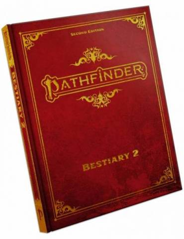 Pathfinder Bestiary 2 Special Edition Hardcover (Inglés)