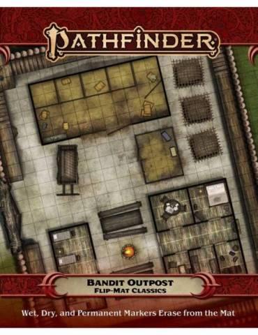 Pathfinder Flip-Mat Classics: Bandit Outpost