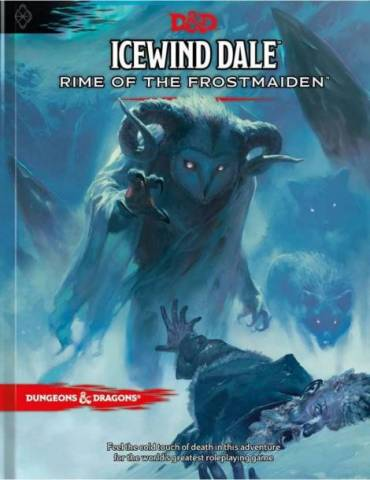 Dungeons & Dragons: Icewind Dale - Rime of the Frostmaiden (Regular Cover) (Inglés)