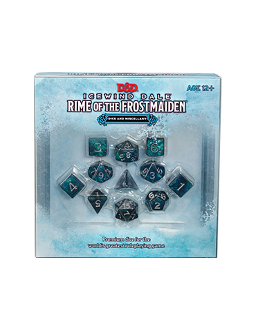 Dungeons & Dragons: Icewind Dale - Rime of the Frostmaiden Dice & Miscellany
