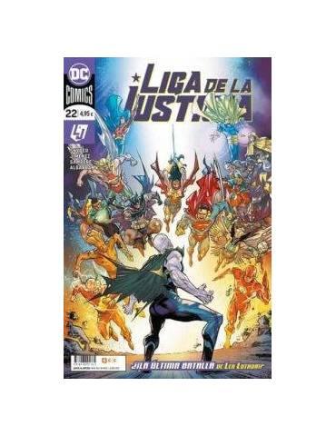 Liga de la Justicia núm. 100/ 22 (Portada normal)