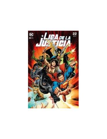 Liga de la Justicia núm. 100/ 22 (Portada especial acetato Edición Limitada 1000 unidades)